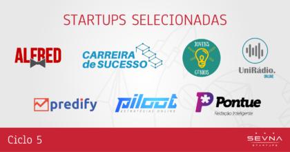 Sevna apresenta as 7 startups selecionadas para o seu quinto clico de aceleração