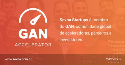 Startups aceleradas pelo Sevna têm acesso a fundo de investimento GAN Ventures