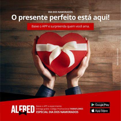 Alfred oferece frete grátis para o Dia dos Namorados