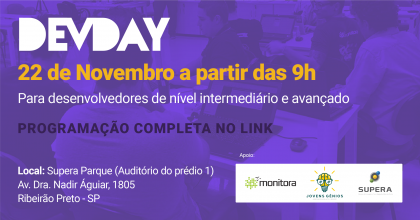 Sevna realiza evento gratuito para desenvolvedores