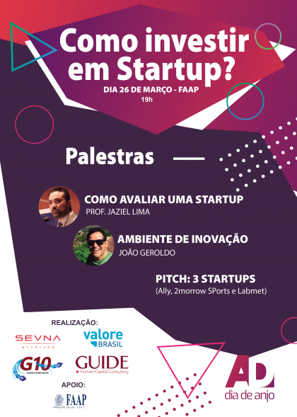 Como investir em startups é tema de encontro em Ribeirão Preto
