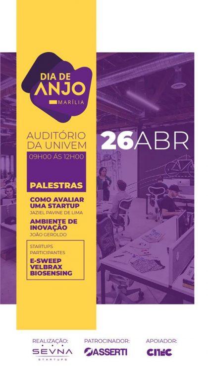 Investimento em Startups é tema de encontro em Marília