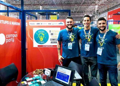 Startup Jovens Gênios recebe aporte de R$ 200 mil