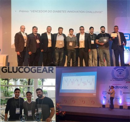 GlucoGear vence competição de inovação em Evento Internacional sobre Tecnologias em Diabetes