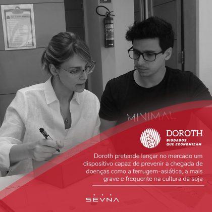 Doroth: startup pode reduzir em até 50% os gastos com fungicida na plantação de soja